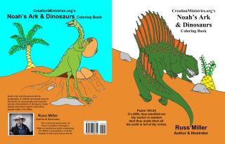 NOAH\'S ARK & DINOSAURS COLORING BOOK | Creation, Evolution & Science ...